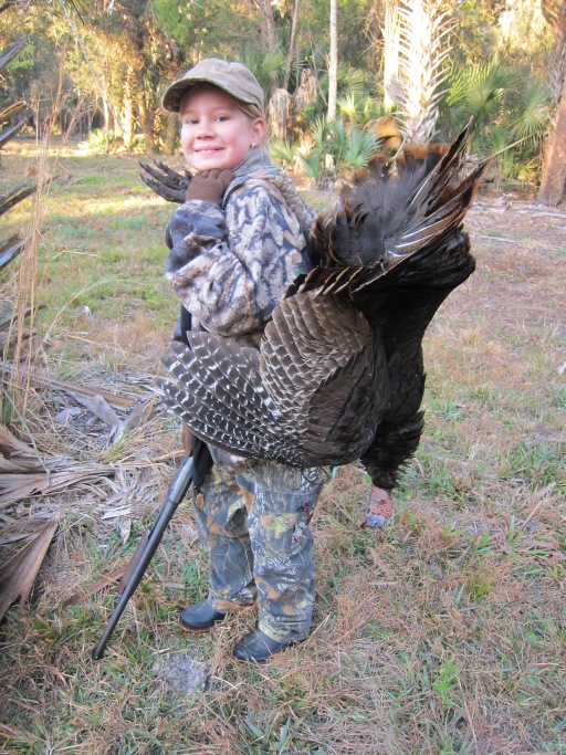 Morgans First Turkey 1