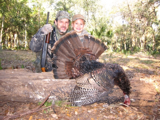 Morgan's First Turkey - Jake