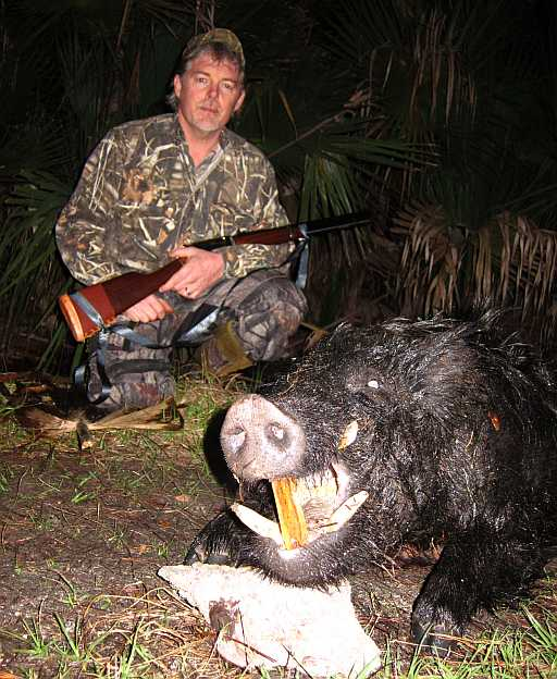 Dean Furbeys Trophy Boar - Bull Creek Outfitters
