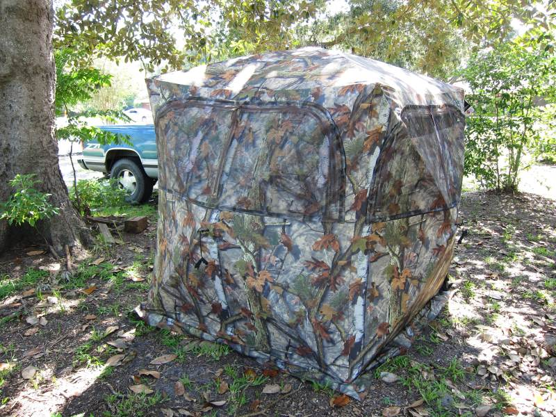 Turkey Hunting Blind Chair Bull Creek Outfitters